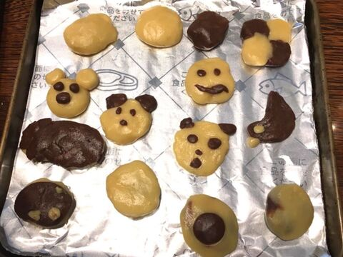 オーブン トースター で クッキー