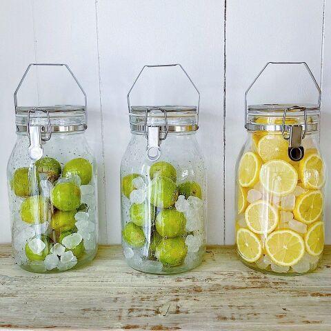 漬け レモン シロップ