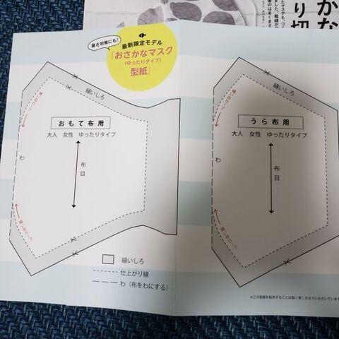 アベノマスク型紙