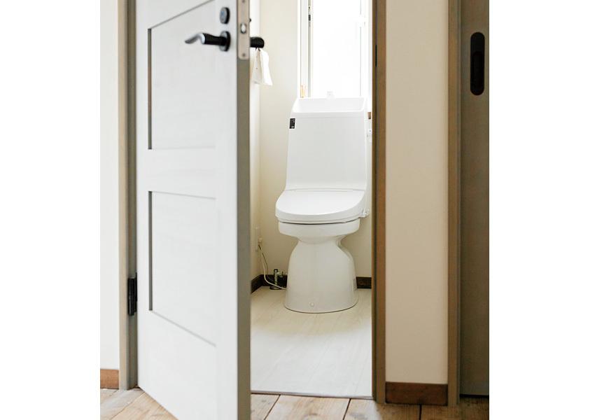 クッションフロアのトイレ