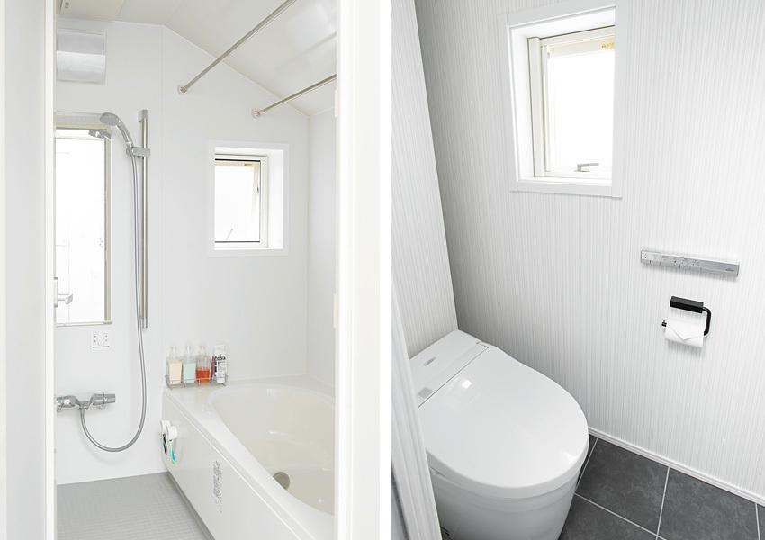 LIXILのユニットバスとトイレ