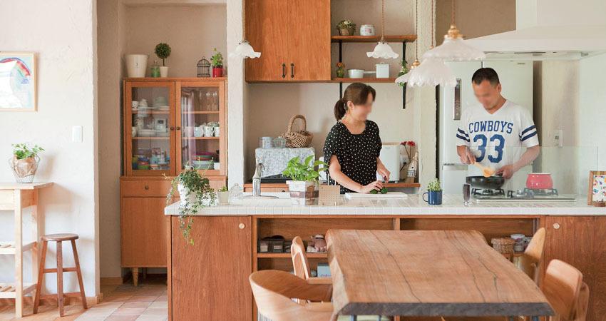広くてオープンなキッチン