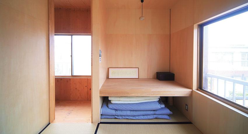 シナ合板が合う和室はのんびりとした空間を作ります