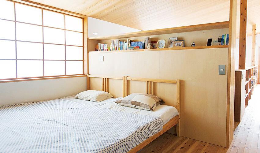 風通しがよい寝室
