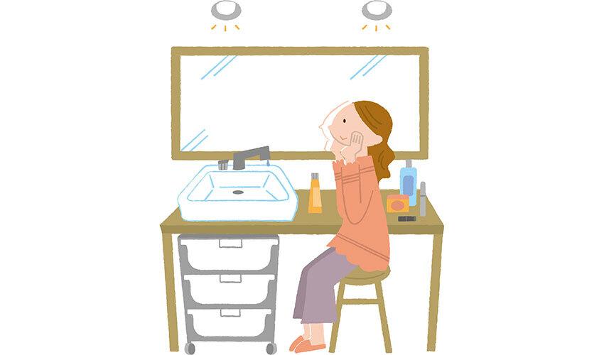 化粧室イラスト