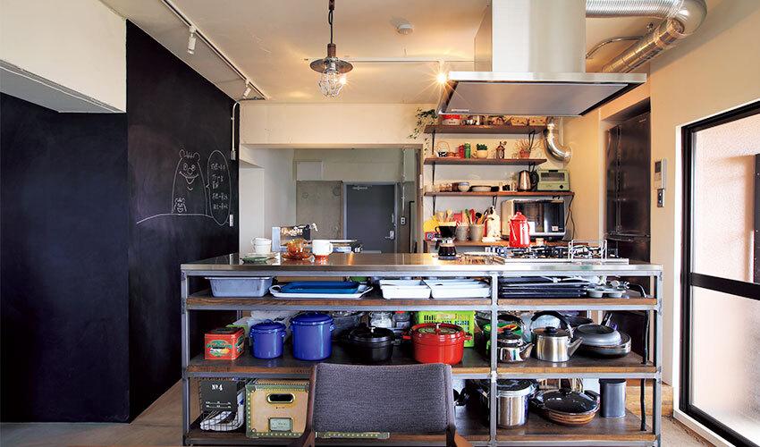 カフェの厨房風キッチン