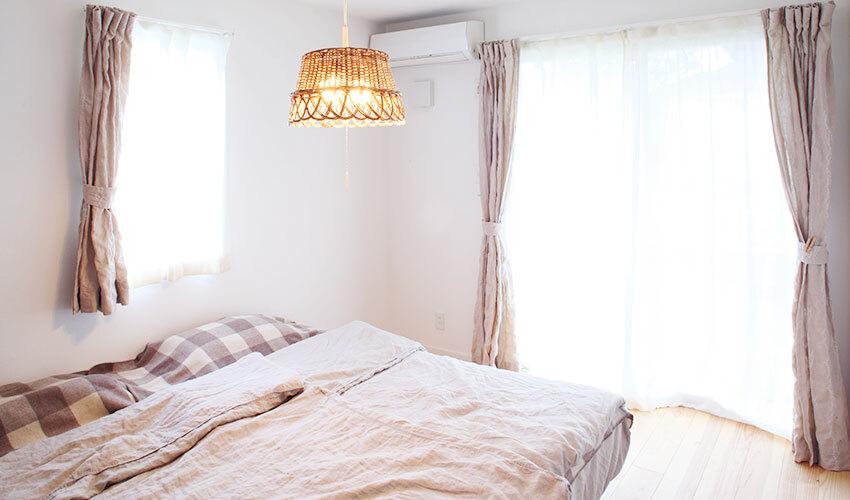 通路からいちばん奥の寝室