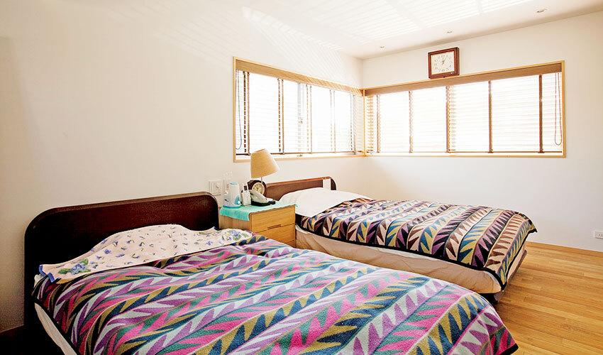 親世帯の寝室