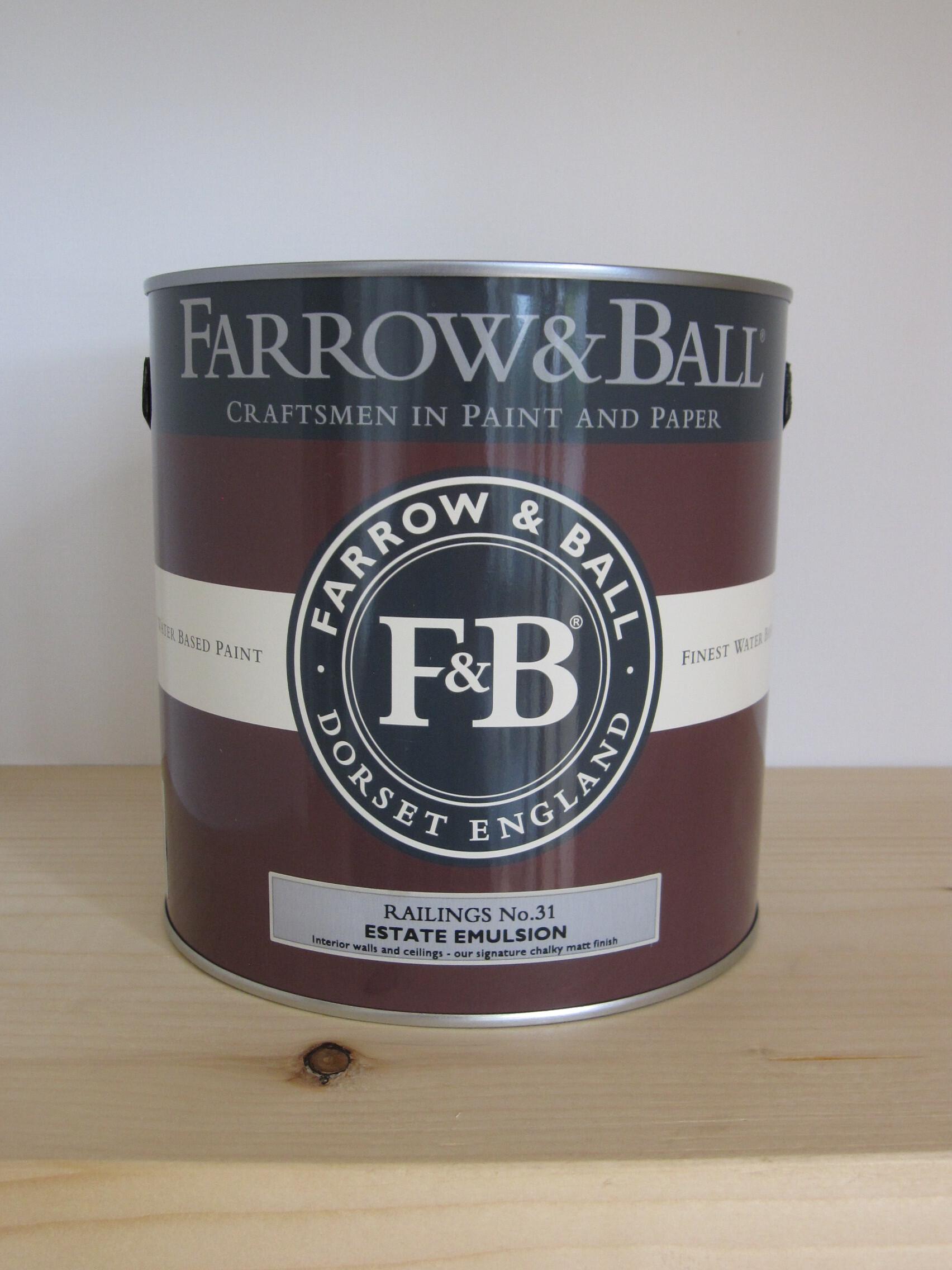 壁塗装材料のイギリス「FARROW&BALL」