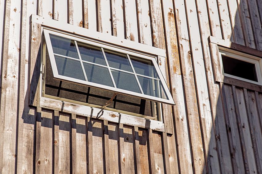 断熱ペアガラスサッシの窓