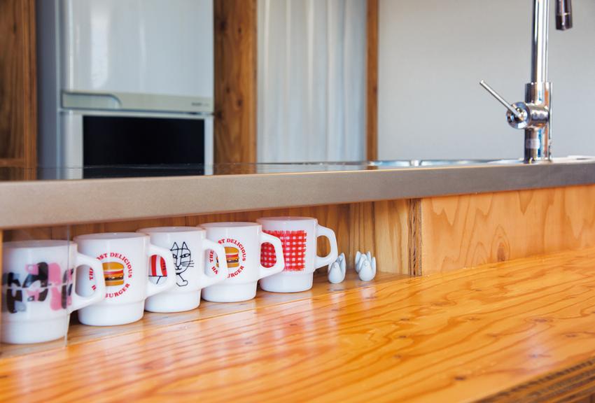 ファイヤーキングのマグカップコレクション